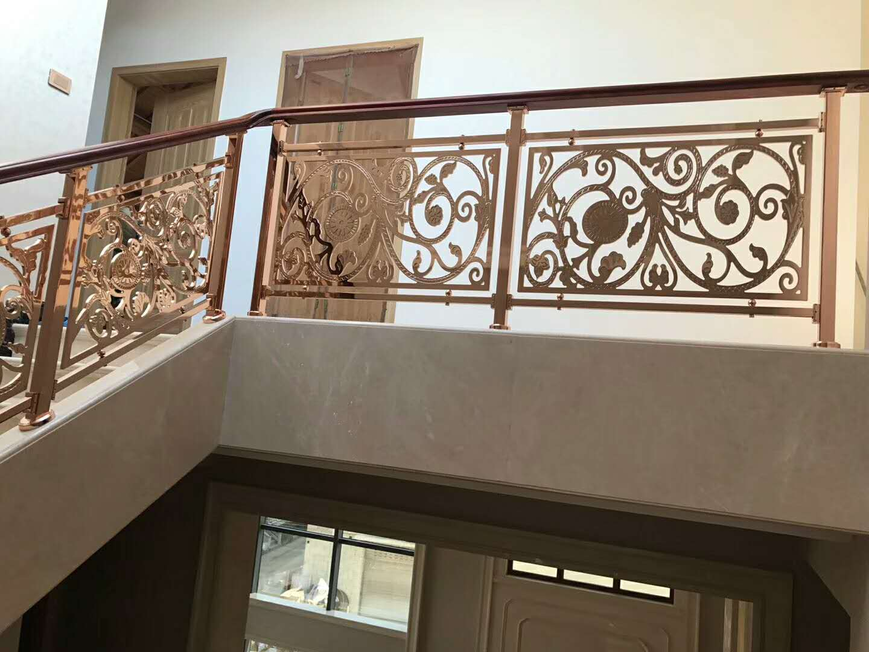 包头铝艺楼梯